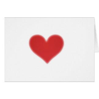 Valentinstag Grusskarte Tarjetón