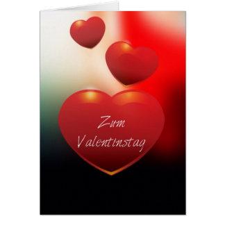 Valentinstag Tarjeta De Felicitación