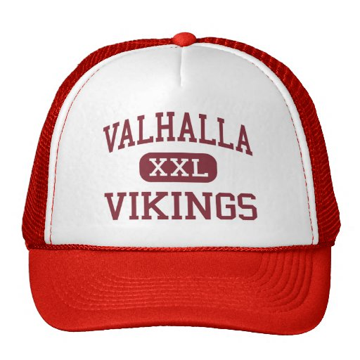 Valhalla - Vikingos - centro - Valhalla Nueva York Gorro De Camionero