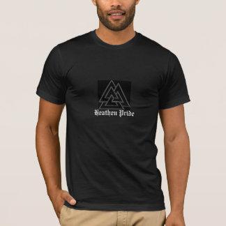 valknot2d, orgullo pagano camiseta