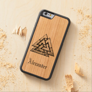 Valknut~ Funda De iPhone 6 Bumper Cerezo
