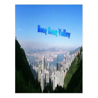 Valle de Hong Kong, postal