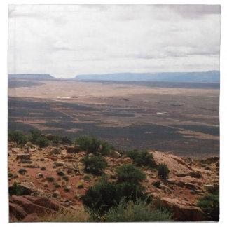 Valle de Utah Servilleta De Tela