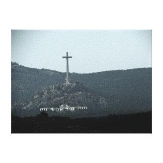 Valle del caido (Valle de los Caídos) Impresión En Lona