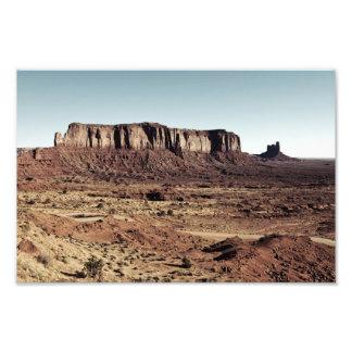 valle del monumento arte fotográfico