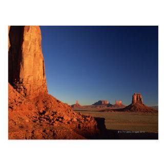 Valle del monumento, parque tribal de Navajo, Postal