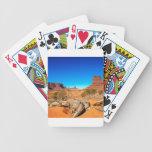 Valle del oeste Arizona del monumento de la manopl Baraja Cartas De Poker