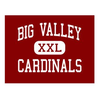 Valle grande - cardenales - alto - Bieber Californ Postales