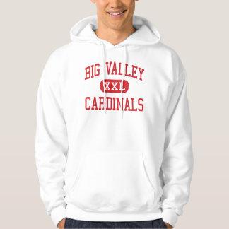 Valle grande - cardenales - alto - Bieber Jersey Encapuchado