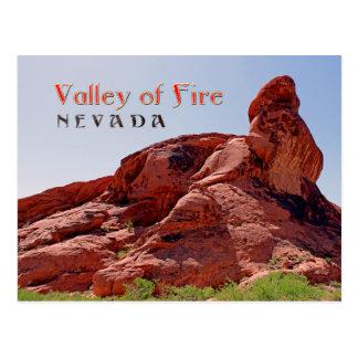 ¡Valle magnífico del fuego, postal del nanovoltio!