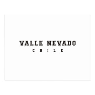 Valle Nevado Chile Postal