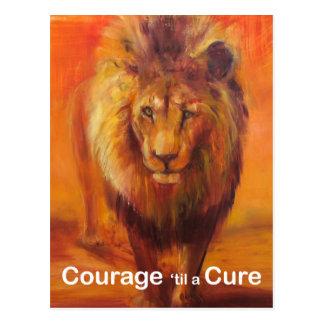 Valor 'hasta una postal de la curación