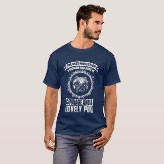 Valor y un barro amasado precioso camiseta