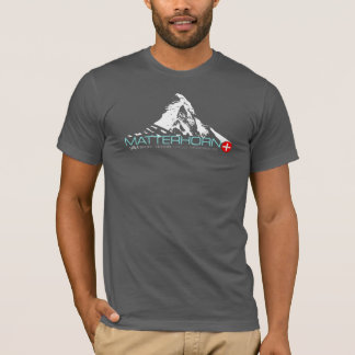 VAM: Camiseta de Montanier del suizo de Cervino