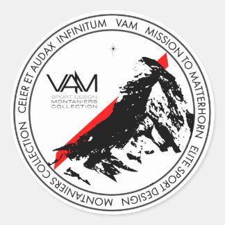 VAM: Pegatina de Cervino Montaniers Zermatt