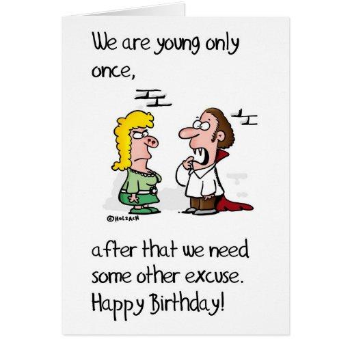 Vampire´s Birthday Felicitación