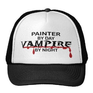 Vampiro del pintor por noche gorro