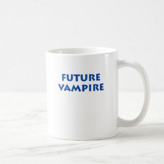 Vampiro futuro taza de café