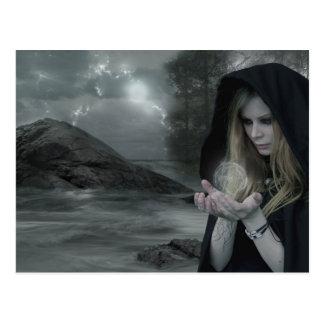 Vampiro y brujería postal