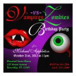 Vampiros contra invitaciones del cumpleaños de Hal Comunicados