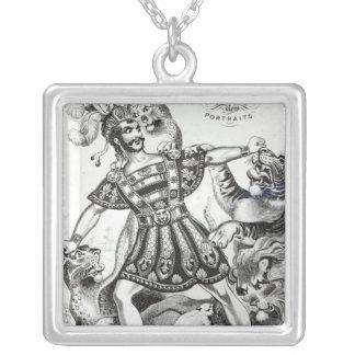 Van Amburgh el más doméstico bruto, 1838 Collar Plateado