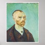 Van Gogh, autorretrato, 1888 Impresiones