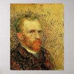 Van Gogh - autorretrato Poster