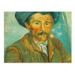 Van Gogh el fumador Tarjetas Postales