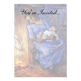 Van Gogh - el hombre está en el mar Invitación 12,7 X 17,8 Cm