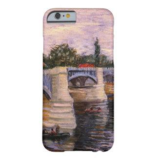 Van Gogh, el Sena Pont del Grande Jette, arte del Funda Para iPhone 6 Barely There