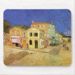 Van Gogh; La casa de Vincent en Arles (casa amaril Tapetes De Ratones