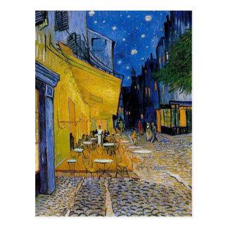 Van Gogh - la postal de la terraza del café