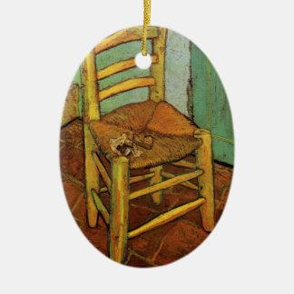Van Gogh; La silla de Vincent con el tubo, arte Adorno
