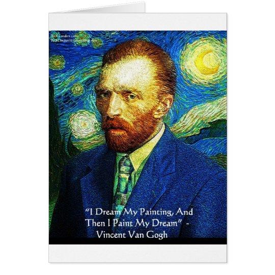 """Van Gogh """"pintura tarjetas etc de las tazas de los"""