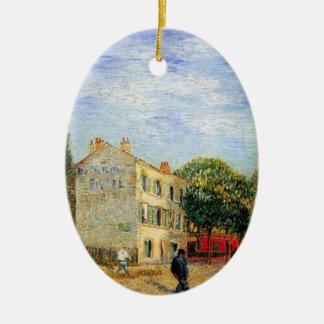 Van Gogh; Restaurante de Rispal en Asnieres Adorno De Reyes