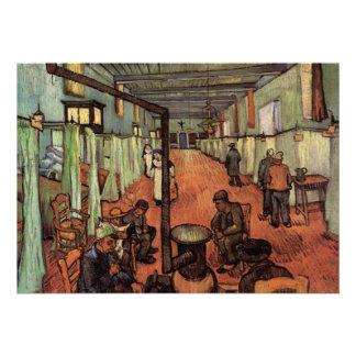 Van Gogh; Sala en el hospital en Arles Anuncio