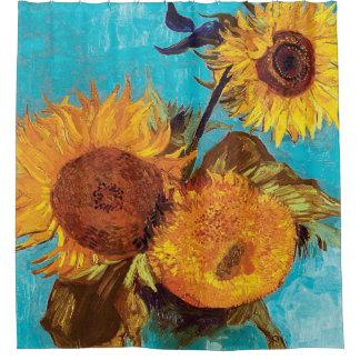 Van Gogh - tres girasoles en un florero - bella