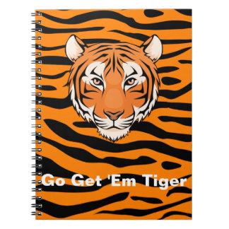 ¡Van les consiguen el cuaderno del tigre - nadie