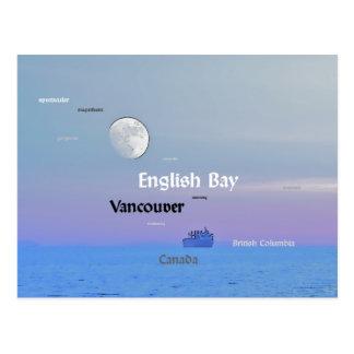 Vancouver, A.C. - estilo del vintage Postal