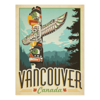 Vancouver, Canadá Postal