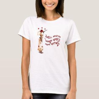 Vaquera bien comportada del rebelde del gitano camiseta