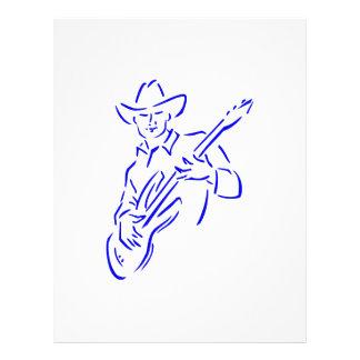 vaquero blue.png del esquema del guitarrista tarjetón