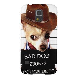 vaquero de la chihuahua - perro del sheriff carcasa galaxy s5