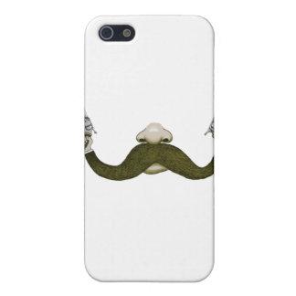 Vaquero del bigote iPhone 5 protectores