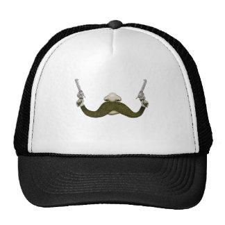 Vaquero del bigote gorras