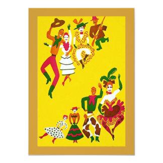 Vaquero del oeste salvaje occidental de la invitación 11,4 x 15,8 cm