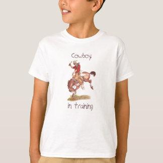 Vaquero en el entrenamiento camiseta