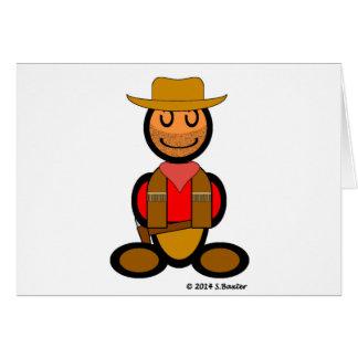Vaquero (llano) tarjetas