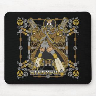 Vaquero mecánico de Steampunk Alfombrilla De Ratón