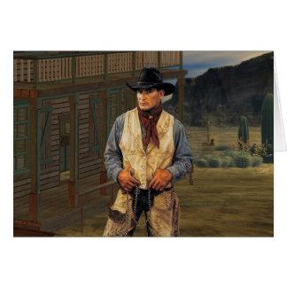 Vaquero Tarjeta De Felicitación